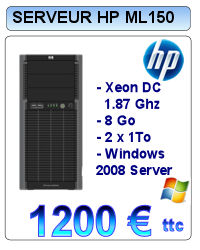 Serveur Occasion HP Proliant ML110