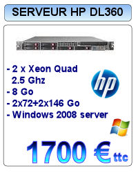 Serveur Occasion HP Proliant DL360